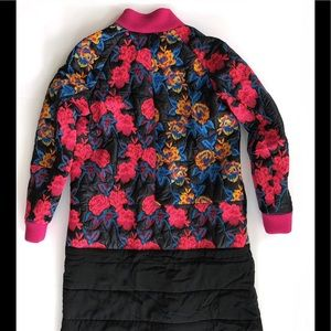 Thakoon embroidered patchwork puff coat